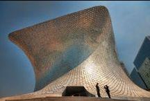futuristic architecture / architecture