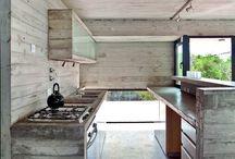 concrete / Concrete interiors