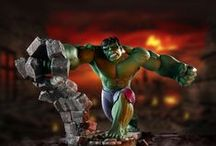 Marvel by Border Fine Arts / Hand made limited edition Marvel figurines