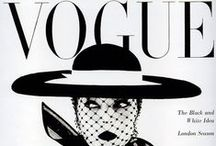 vogue / the iconic covers of the iconic fashion magazine