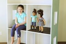 Dolls - House and Furniture