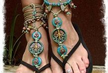 Sandals - Sandaliciousness! / Shoes that are comfy, stylish and easy to pack. Will work well at warm weather destinations