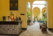 Hotel Beltran De Santa Cruz / El inmueble, construido por los progenitores de Gabriel Beltran de Santa Cruz, primer Conde de San Juan de Jaruco, posteriormente perteneció a descendientes del ilustre Marqués de Cárdenas de Monte Hermoso. / by Paseos por La Habana