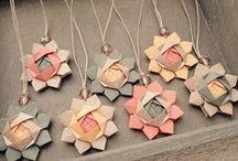Origamis, dobraduras e decoração com papel