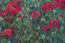 Fiber Artist- Alice Kaersgaard Frost / Fiber artist from Horsens, Denmark. See more of her work at http://www.af-tekstilbilleder.dk/10763484
