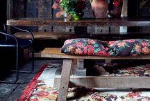Intérieur Bohème Chic / Style Intérieur Bohème Chic - Intérior Boho - Bohemian Rustic - Kinfolk Home