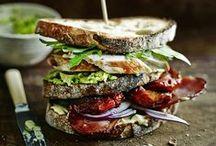 Sandwich..Panini..Tartine...Bruschette e Tramezzini / Il migliore Street Food