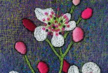 Fiber Artist- Connie Jenkins / Southern NJ fiber artist, involved with TAST (Take A Stitch Tuesday) and likes the embellisher