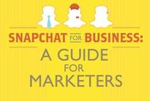 Snapchat Tips / Snapchat best-practices and tips to help marketers utilize one of the fastest growing social networks out there.