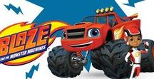Blaze y los Monster Machines / La fiesta de Blaze y los Monster Machine, llegan a PartyMania. Súbete a las divertidas aventuras de Blaze, el gran héroe de carreras de Ciudad Axle! Si hay algún problema, Blaze es la solución, porque hace cosas que ningún otro camión puede hacer, como su super velocidad, acelerando más rápido que ningún otro camión.  En PartyMania, podrás conseguir todos los artículos de menaje y decoración, para poder organizarle una fiesta de cumpleaños de Blaze y Los Monster Machine.