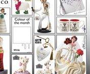 Colour of the Month - April / White For Wedding season