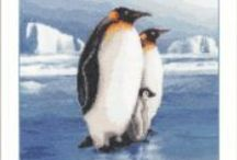 Cross Stitch - Penguin / by Lucy Levitz