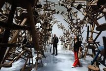 Ai Weiwei / Ai Weiwei (Beijing, 18 May 1957) is a Chinese contemporary artist, active in sculpture, installation, architecture, curating, photography, film, and social, political and cultural criticism.