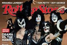 """""""The Cover Of The Rollin' Stone"""" / Iconic Magazine Covers / by Universal Music Enterprises"""