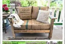 Uses for Pallets / Creative uses for old pallets