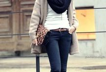 Winter outfits / Cozy, comfy and stylish outfits I love!