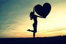 """Love ♥ / """"All you need is love"""".. Luckily the world is full of it. :)"""