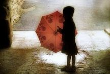 Those rainy days... :') / Let the rain wash away your problems.