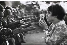 Marc Riboud / Marc Riboud (born 24 June 1923 in Lyon, France) is a French photographer, best known for his extensive reports on the East: The Three Banners of China, Face of North Vietnam, Visions of China, and In China.