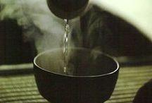 Green tea and Sake