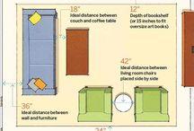 Mitoitus / Ideoita ja vinkkejä pieniin tiloihin ja mitoituksiin