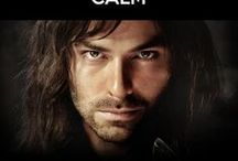 KILI - Aidan Turner - The Hobbit - / BEAUTIFUL DWARF! Fíli and Kíli were nephews of Thorin, who was the elder brother of their mother Dís. They were also nephews of Frerin, grandsons of Thráin II, and great-grandsons of Thror. Fíli's most distinguishing feature was his long nose, the longest of any of the dwarves on the Quest of Erebor. As the youngest dwarves, Fíli and Kíli had the sharpest eyes so they were often sent scouting or searching. They found the Goblins' cave in the Misty Mountains