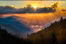 Outdoors & Nature / One of our favorite places to be, The Great Smoky Mountains National Park.