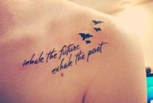 Tattoos / Tattoos I like and may have one day...