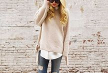 Sweater Styling / Do you have too many sweaters and not sure how to style different looks? Take a peak...