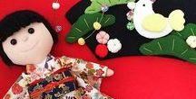 """ぬい撮り 華ちゃん / 和裁技能士を目指す華ちゃん人形 japanese sewing doll """"Hana-chan"""" by ToaWasai"""
