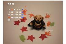 カレンダー / 株式会社東亜のHPでご紹介した東亜会四日市支部 加藤さんのカレンダーです