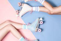 Roller skate goals