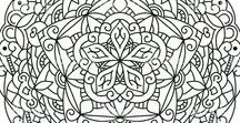 Mandala & Colouring pages for adults