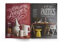 Pica pint magazines / magazines / graphic design