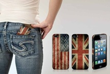 Flag covers of SBS for iPhone5 and Samsung S III