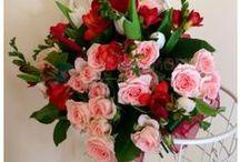 Buchete frezii / Freesia bouquets / www.florariamobila.ro/buchete-de-flori/buchete-frezii.html