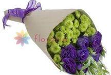 Buchete lisianthus / Lisianthus bouquets / http://www.florariamobila.ro/buchete-de-flori/buchete-lisianthus.html