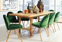 Interiors: Dining spaces / Dining tables, rooms and nooks