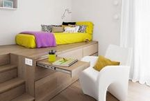 Interiors: small spaces / Ideas for maximising the use of small spaces