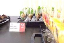 """Adobe Digital Innovation Day 2014 / Eventi aziendali Bocca di Dama: coffee break per evento """"Adobe Digital Innovation Day 2014"""