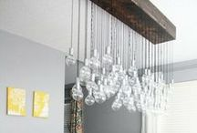 Lighting ideas / lamps, light fixtures and cool lighting ideas.