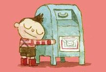 Don't Forget to Write! / books about personal written correspondence .:. letters .  postcards . notes / by Shay Brooks