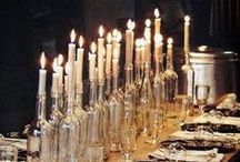 DIY: Setting the table / Vairious ideas for table settings that can be achieved fairly easily and with little cost.