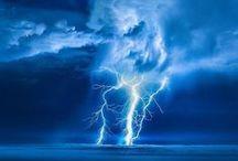 blesky a bouřky