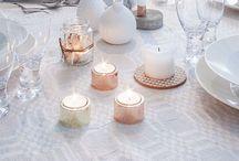 Dinner Table // Tisch Deko / Schöne Tisch-Dekoration