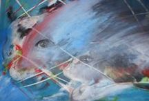 Espelhos da Arte de Glória Costa / Exposição de pintura