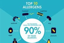 Food Allergy Facts / Infographics, fun facts, blog posts, visuals and other interesting tidbits on food allergies.