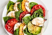 SALADS / recipe ideas / Healthy, beautiful and imaginative salad recipes to inspire, including lots of grain free, gluten free and dairy free options!