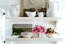 Homewares Inspiration Board / Mostly kitchen bits and pieces, with a thing for clean lines, fresh linens and vintage cutlery