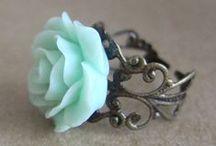 Mint green / I LOVE IT
